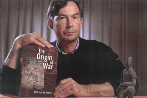 "Johan M.G. van der Dennen, author of, ""The Origin of War: The Evolution of a Male-Coalitional Reproductive Strategy."" Click the link for the integral text of ""The Origin of War"" in PDF format, free. Dr. van der Dennen's work was invaluable in the creation of this article."