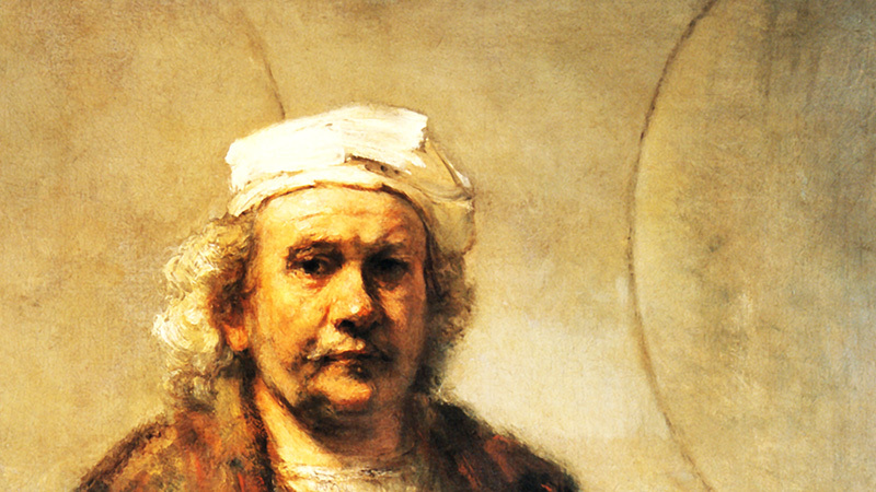Unsolved Art: Mystery Surrounds Rembrandt's 17th Century Selfie